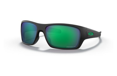 Turbine matte black/prizm jade polarized