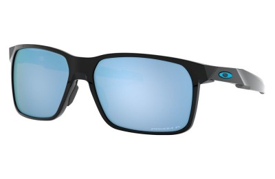 Portal X polished black/prizm deep water polarized
