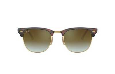 RB3016 CLUBMASTER FLASH LENSES GRADIENT Tortoise/Green