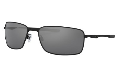 Square Wire™ matte black/black iridium polarized