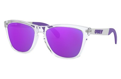 Frogskins™ Mix polished clear/violet iridium polarized