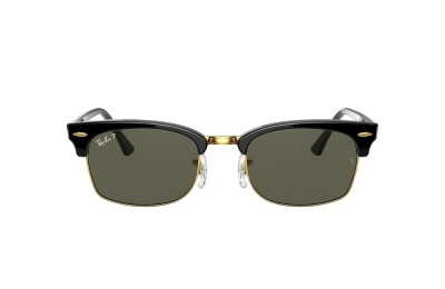 RB3916 CLUBMASTER SQUARE Black/Green