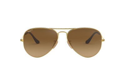 RB3025 AVIATOR GRADIENT Gold/Brown