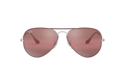 RB3025 AVIATOR MIRROR Red/Violet