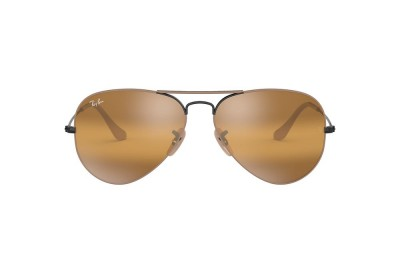 RB3025 AVIATOR MIRROR Beige/Yellow