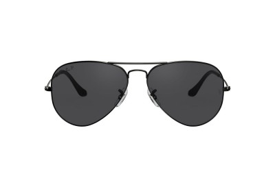RB3025 AVIATOR LARGE METAL Black/Black