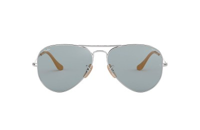 RB3025 AVIATOR WASHED EVOLVE Silver/Blue