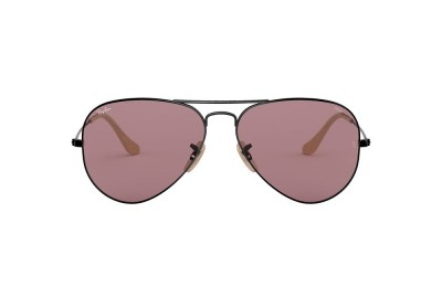 RB3025 AVIATOR WASHED EVOLVE Black/Violet