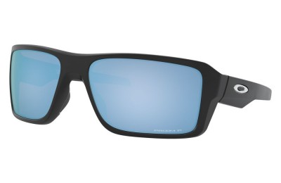Double Edge matte black/prizm deep water polarized