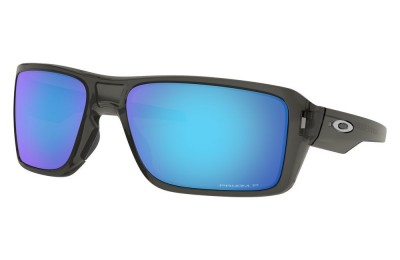 Double Edge grey smoke/prizm sapphire polarized