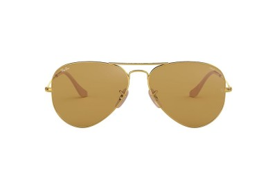RB3025 AVIATOR WASHED EVOLVE Gold/Brown