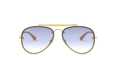 RB3584N BLAZE AVIATOR Gold/Transparent