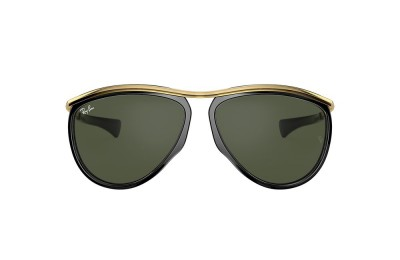 RB2219 AVIATOR OLYMPIAN Black/Green