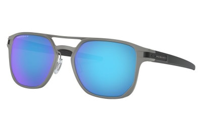 Latch™ Alpha matte light gunmetal/prizm sapphire polarized