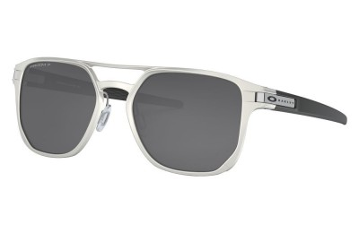 Latch™ Alpha matte silver/prizm black polarized