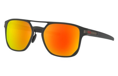 Latch™ Alpha matte black/prizm ruby polarized