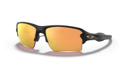 Flak® 2.0 XL matte black/prizm rose gold polarized