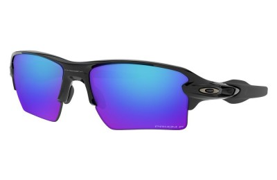 Flak® 2.0 XL polished black/prizm sapphire polarized