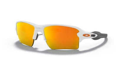 Flak® 2.0 XL polished white/fire iridium
