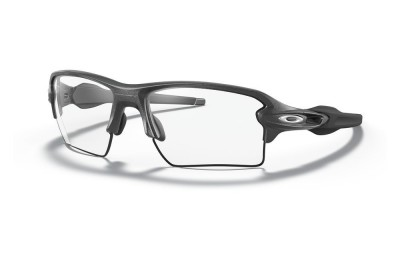 Flak® 2.0 XL steel/clear to black iridium photochromic
