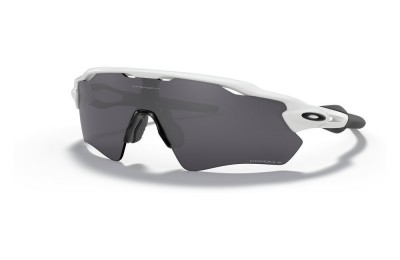 Radar® EV Path® polished white/prizm black polarized