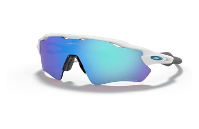 Radar® EV Path® Team Colors polished white/prizm sapphire