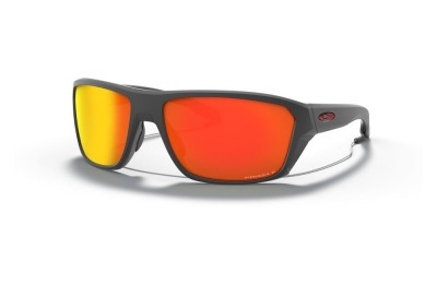 Split Shot matte heather grey/prizm ruby polarized