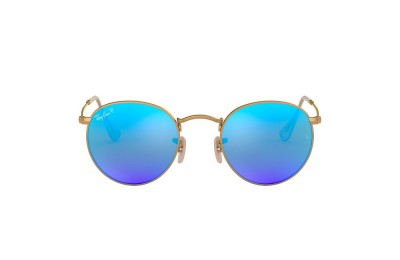 RB3447 ROUND FLASH LENSES Gold/Blue