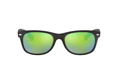 RB2132 NEW WAYFARER FLASH Black/Green