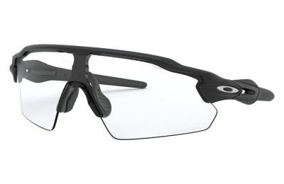 Radar® EV Pitch® matte black/clear to black iridium photochromic