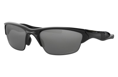 Half Jacket® 2.0 polished black/black iridium polarized