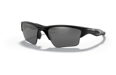 Half Jacket® 2.0 XL polished black/black iridium polarized