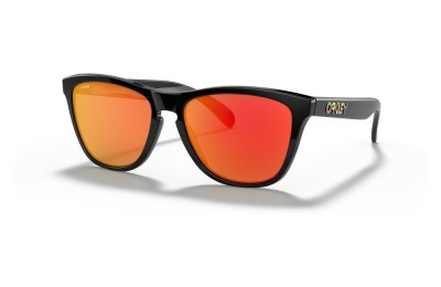 Frogskins™ Valentino Rossi Signature Series polished black/prizm ruby