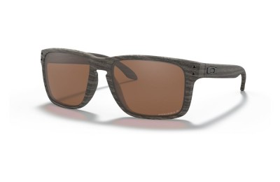 Holbrook™ XL woodgrain/prizm tungsten polarized