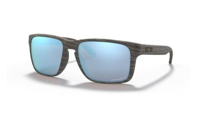 Holbrook™ XL Woodgrain Collection woodgrain/prizm deep water polarized