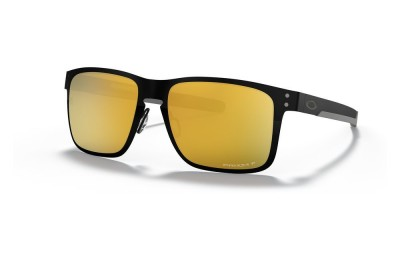 Holbrook™ Metal Midnight Collection polished black/prizm 24k polarized