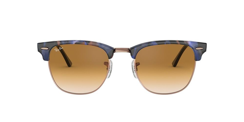 RB3016 CLUBMASTER FLECK Brown/Brown