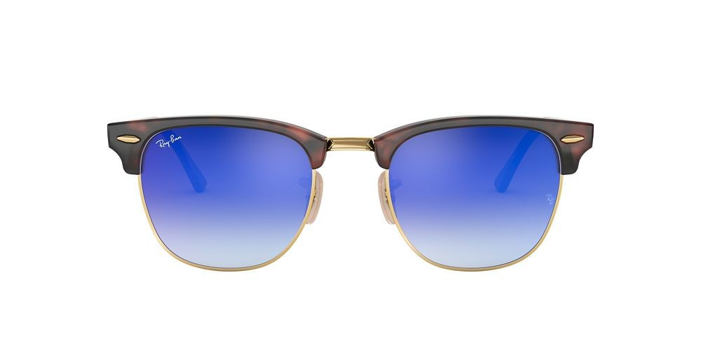 RB3016 CLUBMASTER FLASH LENSES GRADIENT Tortoise/Blue