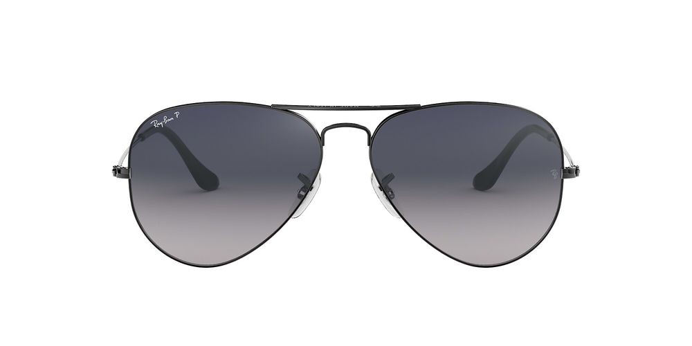 RB3025 AVIATOR GRADIENT Grey/Blue
