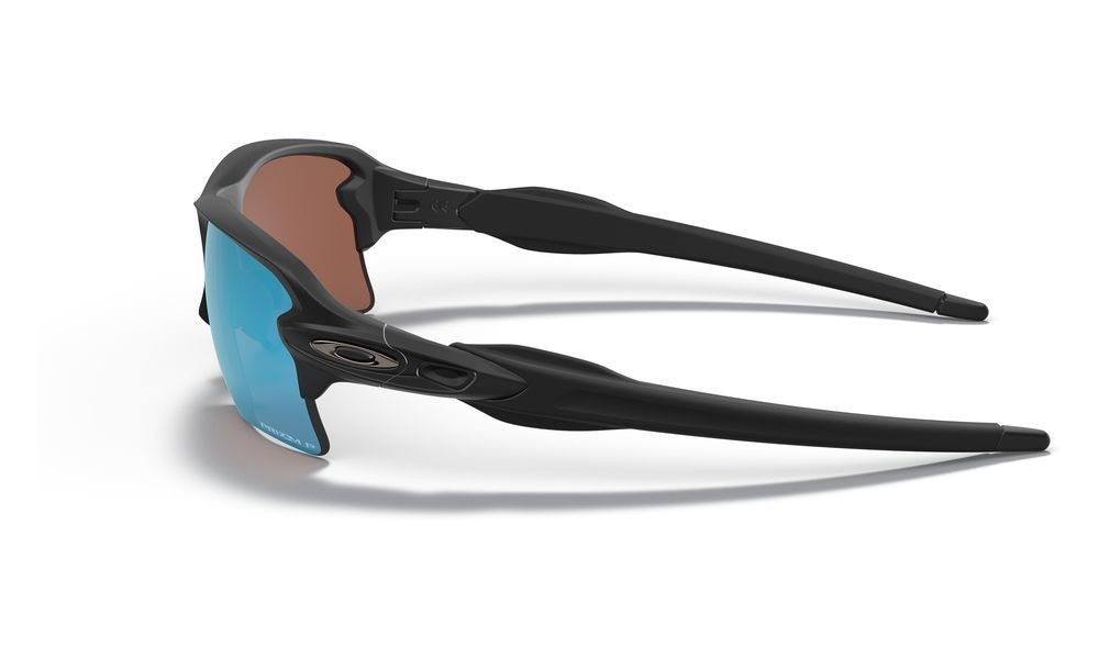 Flak® 2.0 XL matte black/prizm deep water polarized