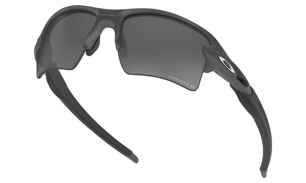 Flak® 2.0 XL steel/prizm black polarized