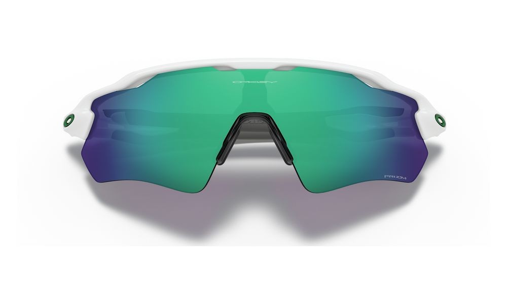 Radar® EV Path® Team Colors polished white/prizm jade