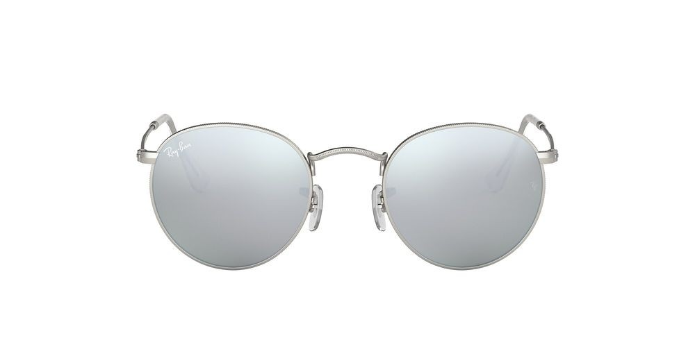 RB3447 ROUND FLASH LENSES Silver/Silver