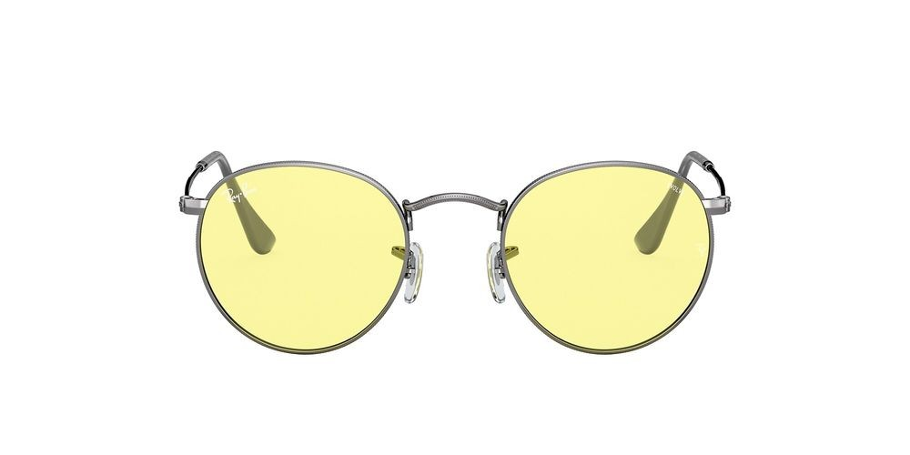 RB3447 ROUND SOLID EVOLVE Grey/Yellow