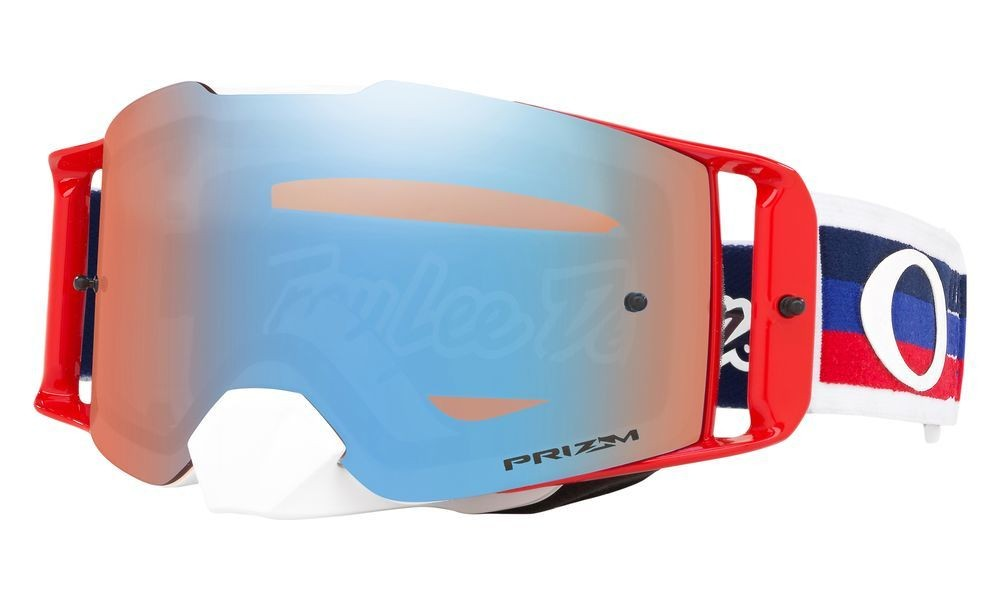 Front Line™ MX Troy Lee Designs Series Goggles - Prizm MX Sapphire Iridium