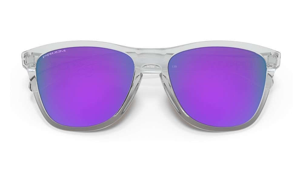 Frogskins™ polished clear/prizm violet